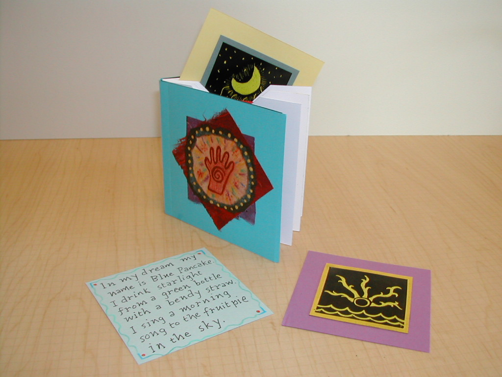 Pocket Book with calling cards