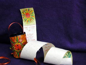 Scroll Book and Pouch